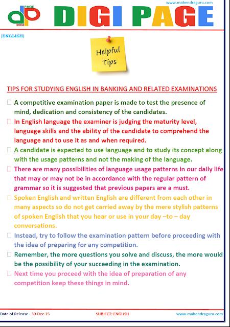 DP | Helpful Tips |30-DEC-15