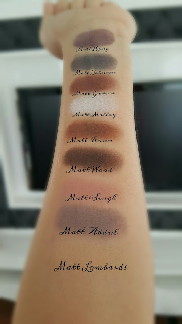 MY FAVORITE EYESHADOW PALETTE '' MEET MATTE NUDE''