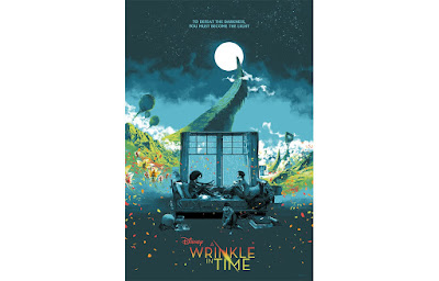 Disney's A Wrinkle In Time Movie Poster Screen Print by Marc Aspinall x Mondo