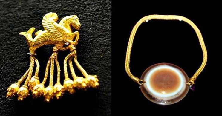 Lidya Kralı Karun'un hazineleri 1965 yılında define arayan birkaç kişi tarafından bulundu.