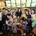 Mang Inasal successfully holds National Halo-Halo Sarap Day with surprise store visits by celebrity endorsers Angel and Empoy