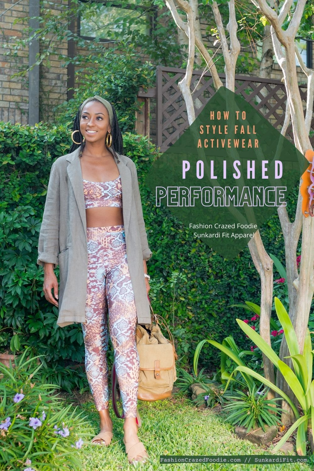 FashionCrazedFoodie Styles Fall Activewear Looks with Sunkardi Fit Apparel