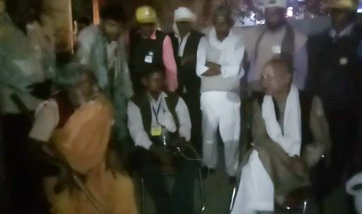 Police forcibly to stop forced farmers, support of farmer Baba Ramkevala on hold