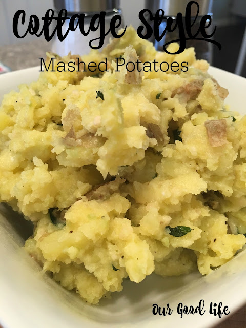 Cottage Style Mashed Potatoes