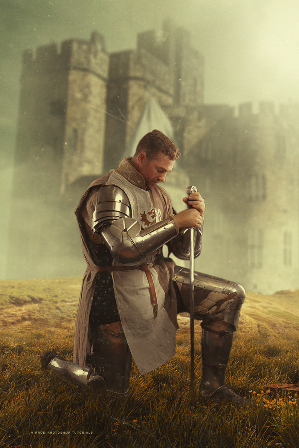 The Knight Photo Manipulation in Photoshop CC