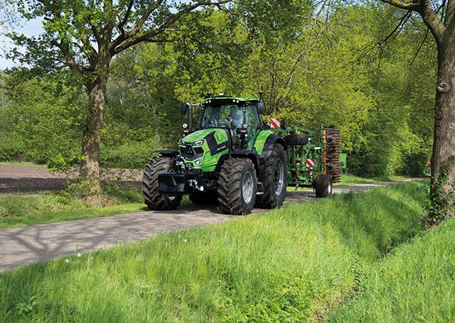 Serie 7 tractores Deutz Fahr