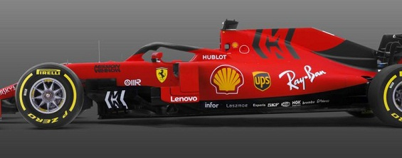 Ferrari in red and blac revealed new SF 90 2019 Formula 1 car