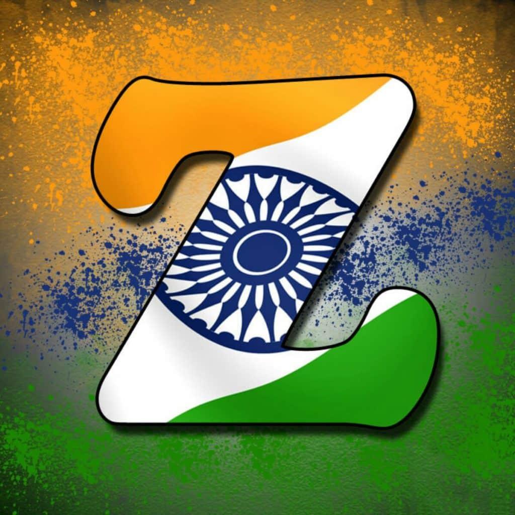 15 August Tiranga Alphabet Images For Whatsapp Dp
