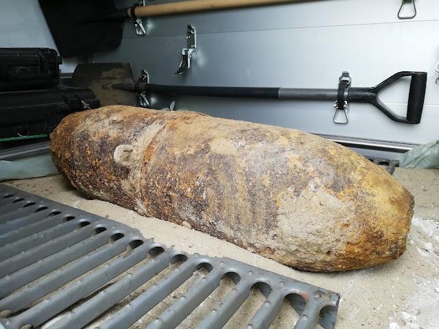 Elszállítják a Sopronban talált világháborús bombát