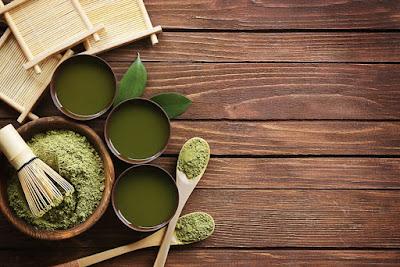 Bamboo leaves tea