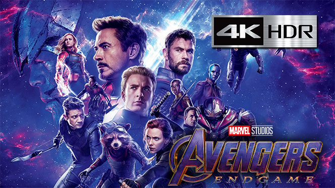 Avengers: Endgame (2019) Web-DL 4K UHD [HDR] Latino-Ingles