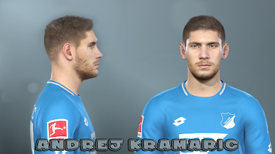 PES 2019 Faces Andrej Kramarić by Prince Hamiz