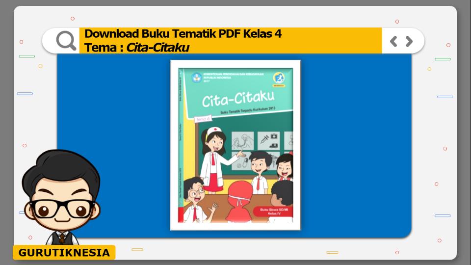 download gratis buku tematik pdf kelas 4 tema cita-citaku