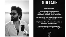 Allu Arjun Tests Covid 19 Positive : अल्लू अर्जुन ने Covid -19 के लिए सकारात्मक परीक्षण किया
