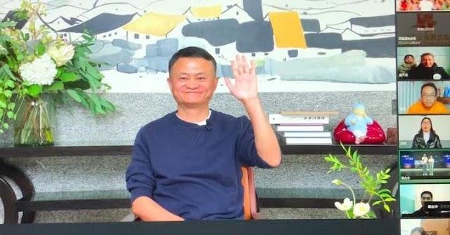"""Alibaba"" Shares jump after Jack Ma Appearance"