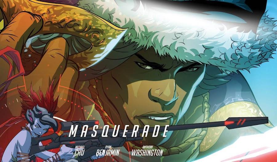 overwatch doomfist comic masquerade