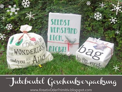 Jute Beutel, Taschen, bemalen, Geschenkerpackung, Recycling, upcycling, present, geschenk, sprüche, basteln, stoff, malen, motto, motiv, verpacken, eingacken, kreativ, idee, schnell, alternative, diy, nähen