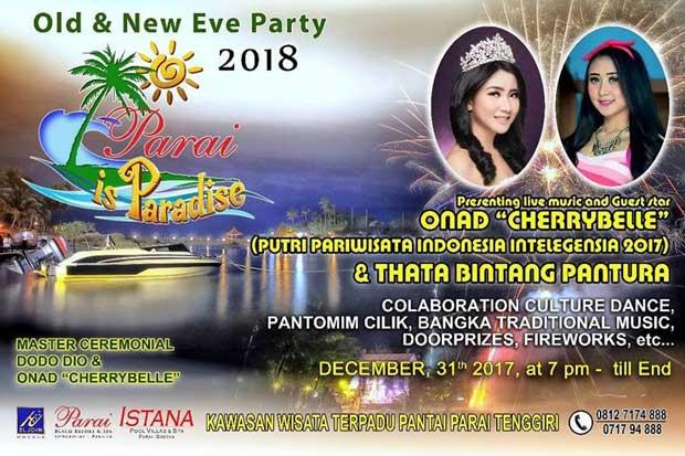 segera berakhir dan berganti dengan tahun  Tempat Hiburan Akhir Tahun dan Paket Promo Hotel Tahun Baru 2018 di Bangka