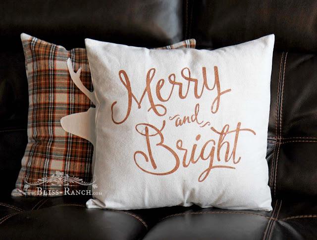 Plaid Pillows Sew A Fine Seam, Bliss-Ranch.com