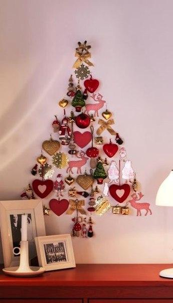Ideas decorativas para hacer arboles navide os en espacios for Arboles para espacios pequenos
