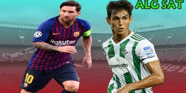 موعد مباراة ريال بيتيس ضد برشلونة والقنوات الناقلة الجولة 23 من الدوري الإسباني
