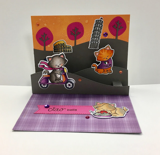 Ciao bella by Beth features Newton Dreams of Italy and Newton Scoots By by Newton's Nook Designs, #newtonsnook