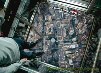 Lift / Elevator Paling Ekstrim di Dunia