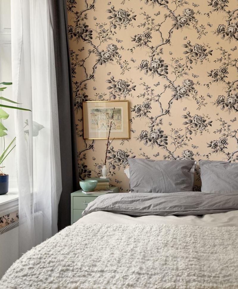 idee per comodino per la camera da letto scandinava