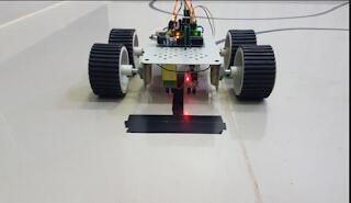 Line Follower Robot with Arduino and IR Sensors