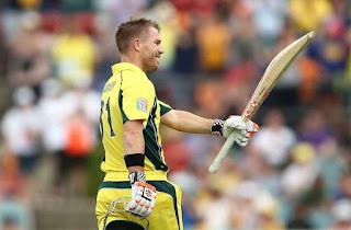 David Warner 119 - Australia vs New Zealand 2nd ODI 2016 Highlights