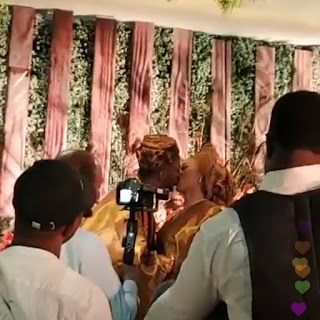 Photos From Singer 9ice And Sunkanmi's Traditional/ Court Wedding