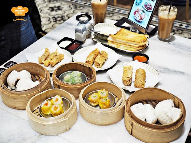 Nam Heong Ipoh White Coffee Dim Sum