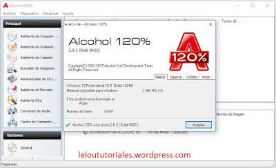 Alcohol 120% v2.0.3 + Crack [Full] [MEGA] [UL]