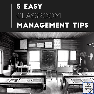 Here are 5 quick and easy tips that you can use in your elementary classroom!  These classroom management tips will help your day run smoothly!
