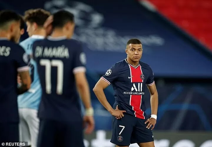 Mbappe given THREE out of 10 in L'Equipe's Champions League ratings