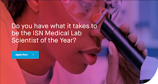 ISN Med Lab Scientist of the Year Award Application Guidelines 2020