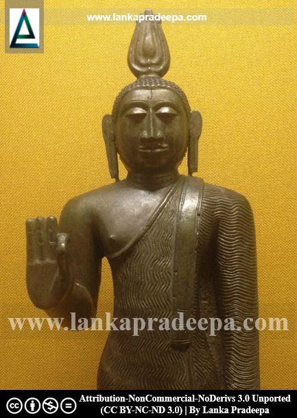 Standing Buddha image, Kandy National Museum