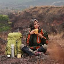 Outfit Gunung Hijabers