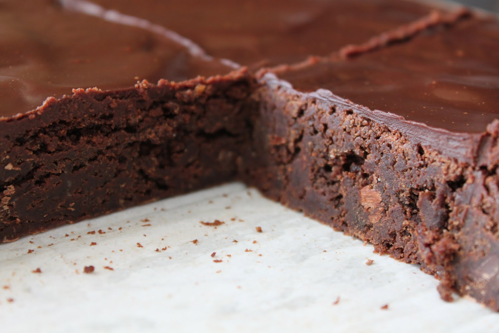 Barefoot Contessa Outrageous Brownies With Ganache Frosting