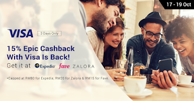 15% ShopBack Cash Back Sale Visa Card Exclusive Promo