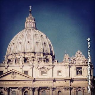cupola sao pedro city tour guia brasileira - Cinco cúpolas de Roma e uma não cupola!