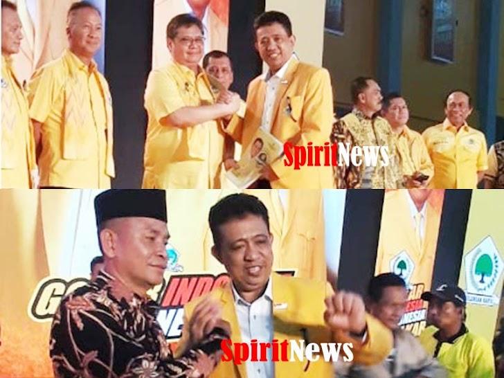 Ketua Umum DPP Partai Golkar Rekomendasi H. Tajeriming Maju di Pilkada Bupati Kab Maros Tahun 2020