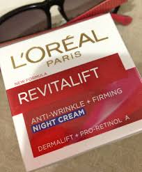 L'oreal Revitalift night cream