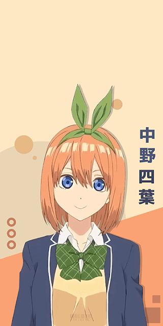 Nakano Yotsuba - Gotoubun no Hanayome Wallpaper