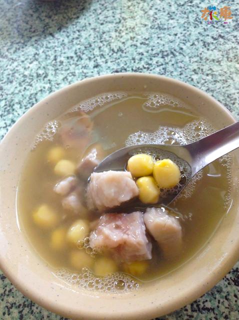 冷凍芋頭蓮子湯