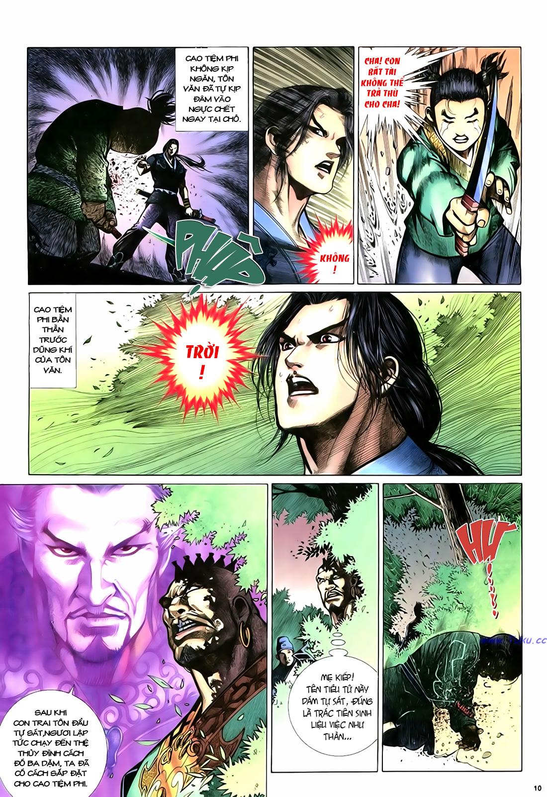 Anh hùng vô lệ Chap 18 trang 11