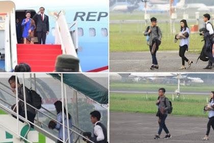 Jokowi Sepertinya Lupa Akan Inpres No 4 tahun 2017, Saat Berkunjung Ke LN Bawa Anggota Keluarga
