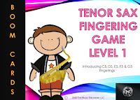 Tenor Sax - Level 1