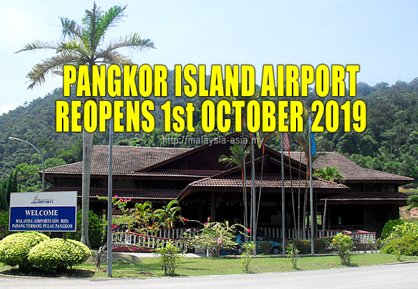 Lapangan Terbang Pangkor Buka
