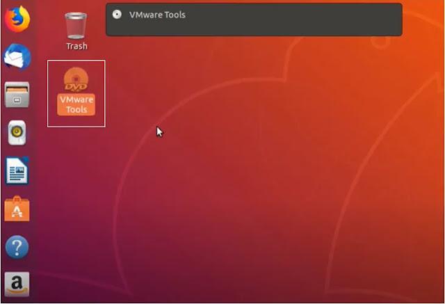 VMware tools installation